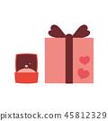 材料禮品盒 45812329