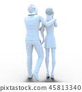 성희롱 이미지 perming3DCG 일러스트 소재 45813340