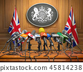 Briefing or press conference of prime minister UK 45814238