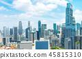 Aerial panorama of Singapore metropolis 45815310
