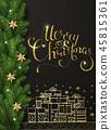 greeting christmas xmas 45815361