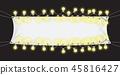 light, banner, bulb 45816427