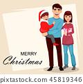 Christmas, family, xmas 45819346