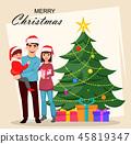 Christmas, family, xmas 45819347