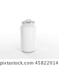 Soda can open the lid with droplet Mockup 45822014