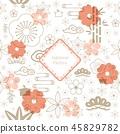 背景 花 花朵 45829782