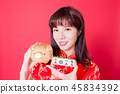 chinese new year concept 45834392