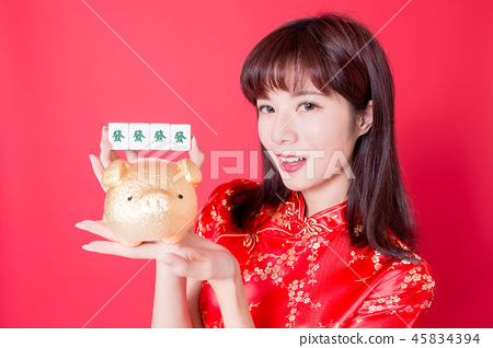 chinese new year concept 45834394