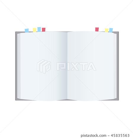 筆記本書參考書例證 45835563