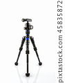 Black Photo tripod. 45835872