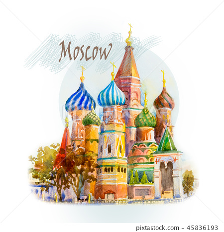 The main tourist attraction in Moscow,Russia. 45836193