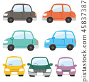 car, vehicle, side 45837387