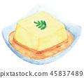 Egg tofu 45837489