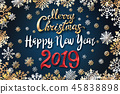 2019,greeting,christmas 45838898