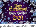2019 christmas greeting 45838905