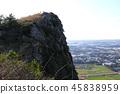 제주 바굼지 오름(단산)의 아름다운 풍경이다 45838959
