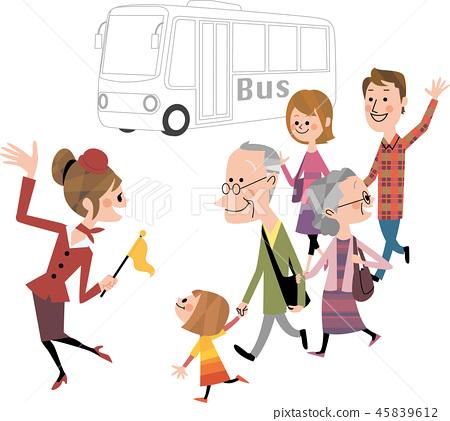 Family bus tour 45839612