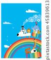 彩虹鐵路和動物火車 45839613