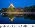 Hiroshima Castle (Carp Castle) in Hiroshima, Japan 45840732