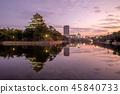 Hiroshima Castle (Carp Castle) in Hiroshima, Japan 45840733