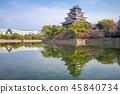 Hiroshima Castle (Carp Castle) in Hiroshima, Japan 45840734
