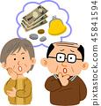 高級夫婦的錢的麻煩 45841594