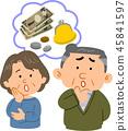 高級夫婦的錢的麻煩 45841597