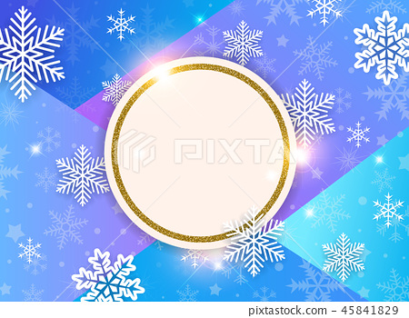 Abstract vector Christmas background 45841829