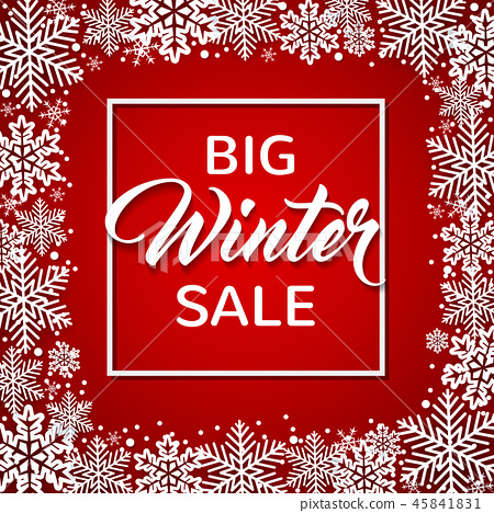 Design for seasonal Christmas sale 45841831