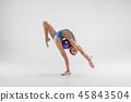 female, woman, gymnast 45843504