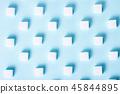 Sugar on blue background 45844895