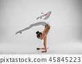 female, woman, gymnast 45845223