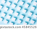 Sugar on blue background 45845526