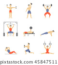 icon fitness training 45847511
