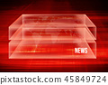 Graphical red theme digital binary codes back 45849724