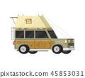 travel, trailer, vector 45853031
