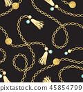 chain, pattern, golden 45854799