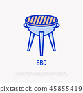 bbq, icon, grill 45855419