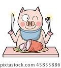 pig ham diet 45855886