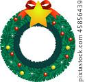 크리스마스리스, 크리스마스, 리스 45856439