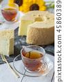 케이크, 케익, 쉬폰 케이크 45860389