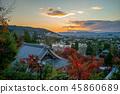 zenrin temple (Eikando) in kyoto, japan at dusk 45860689