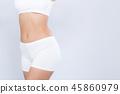 身体 肚子 腹部 45860979