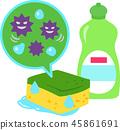젖은 스폰지로 번식하는 세균 45861691