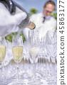 hand, glass, alcohol 45863177