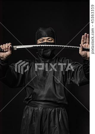 Ninja who pulled the sword 45863359