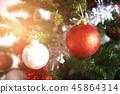 Christmas decoration - Christmas tree  45864314