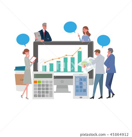 企業圖像例證 45864912