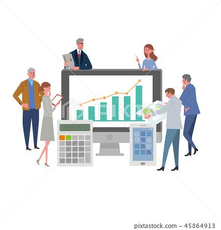企業圖像例證 45864913