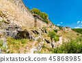 Chufut-Kale, a ruined medieval city-fortress in the Crimean Mountains 45868985